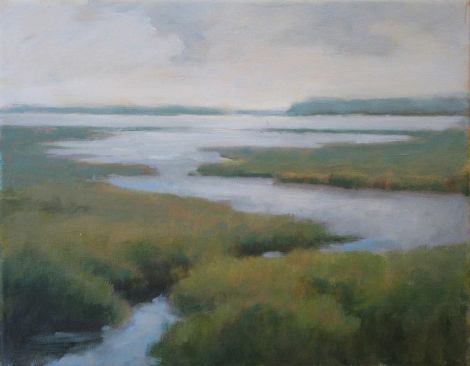 Tidal Marsh  8x10