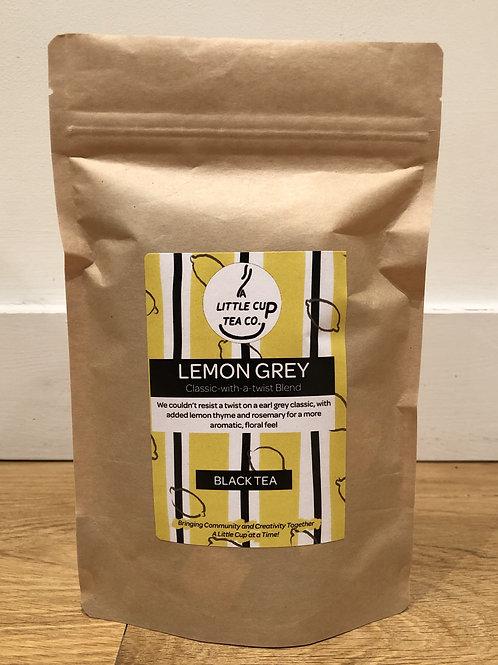 Lemon Grey Black Tea Blend