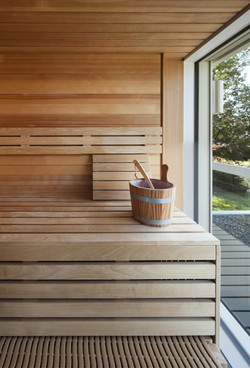 Sauna de madera