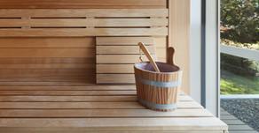 Transpirer avec le sauna