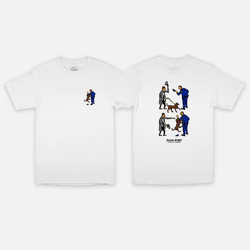 Tee Friendly K9 White