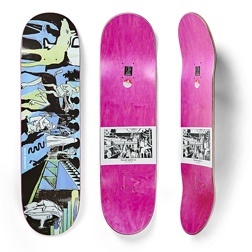 """Deck Nick Boserio The Riders 8.625"""""""