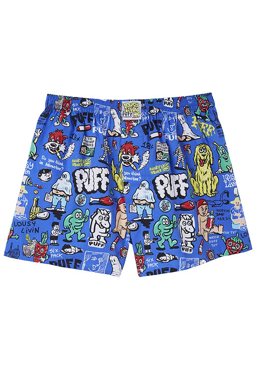 Boxershorts Puff Collab Blue