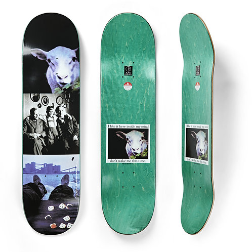 """Deck Team I Like It Here Sheep in Motion 8.125"""""""