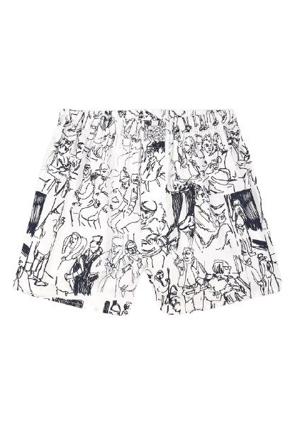 Boxershorts Subway White