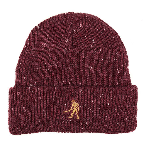 Beanie Worker Red