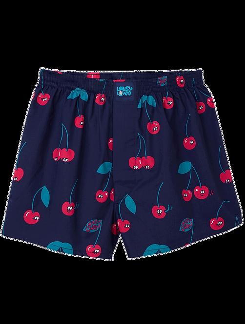 Boxershorts Cherries Cherrie Blue