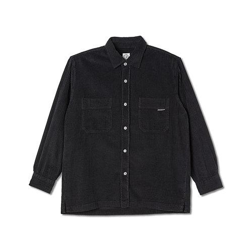 Polar Cord Shirt Black