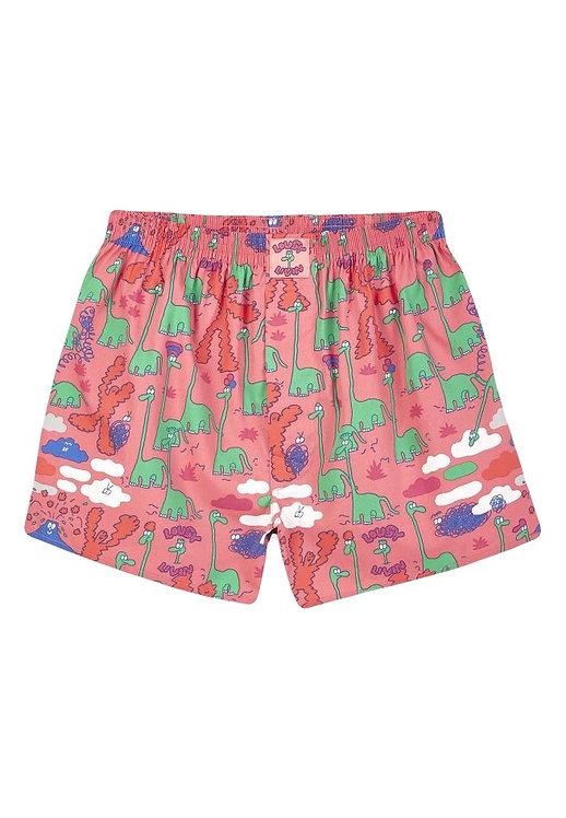 Boxershorts Dinos Pink