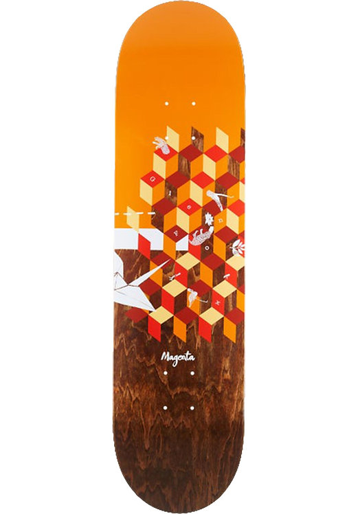 "Magenta Board The Dreamer Series Glen Fox 8.5"""
