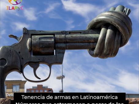 Tenencia de armas en Latinoamérica: números que estremecen a pesar de las regulaciones