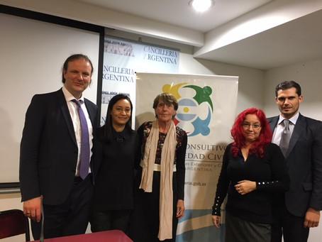 ARGENTINA: Conferencia sobre la implementación de la Resolución 53/243 de las Naciones Unidas