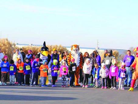 Turkey Trot Where Mascots Flock