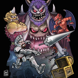 Ghost and goblins
