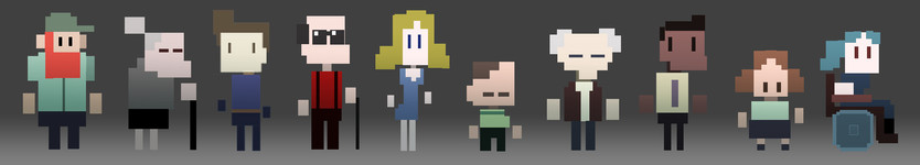 Personajes Pixel Art