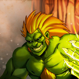 blanka Street Fighter II