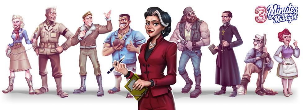 Characters Eliza