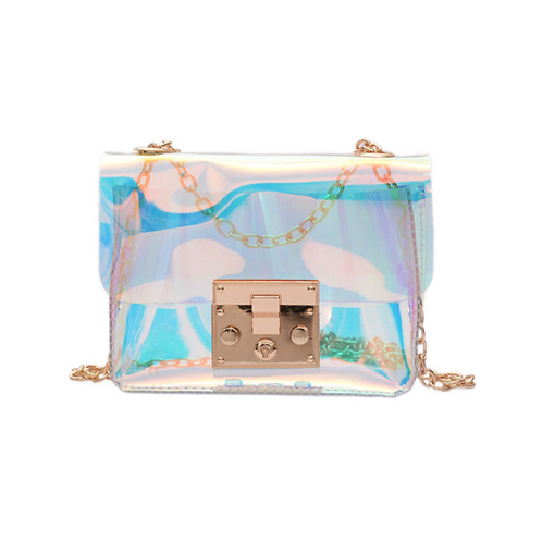 Iridescent Shoulder Bag