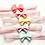 Thumbnail: Double Layered Pastel Bow Elastic Headbands
