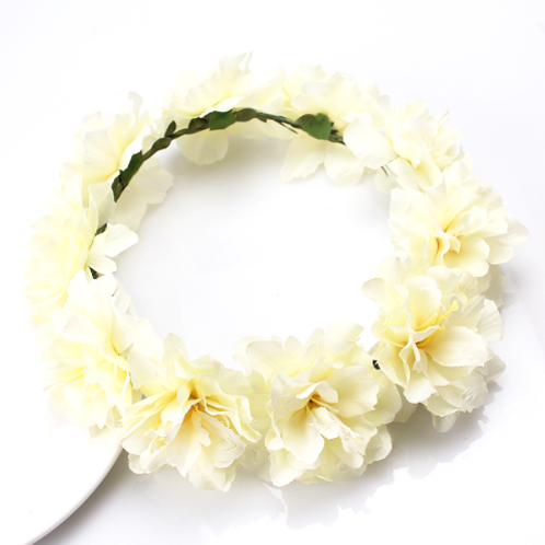 Carnation Floral Crown