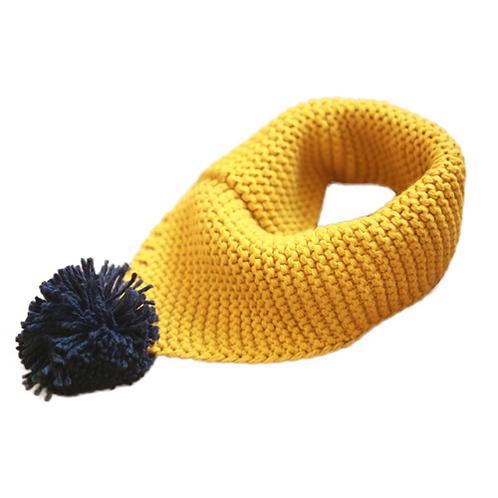Unisex Bandana Knitted Scarf