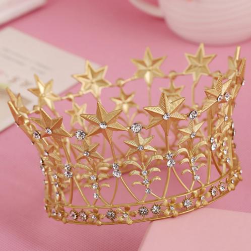 Embellished Stars Crown
