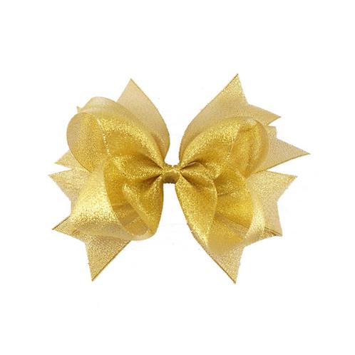 """6"""" Organza Bow Hair Clip"""