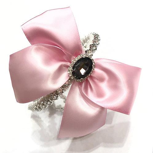 Crystal Bow Embellished Headband