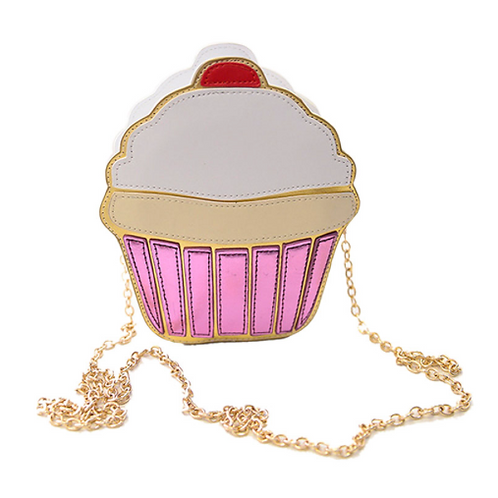 Girls Cupcake Crossbody Bag