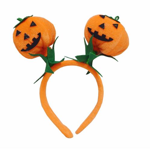 Double-head Pumpkin Halloween Headband