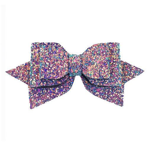 Glitter Bow Clip