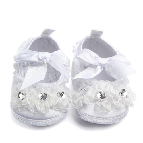 Crystal Lace Baby Shoes