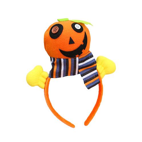 Wacky Pumpkin Halloween Headband