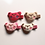 Thumbnail: Plush Teddy Bear Hair Clip - Set Of 4