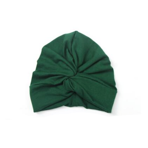 Solid Turban Hat