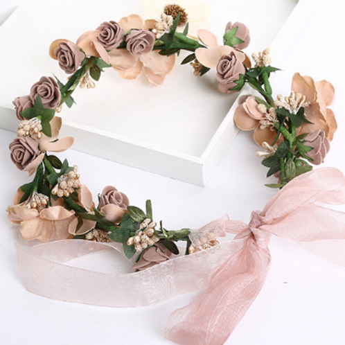 Mini Roses Floral Crown