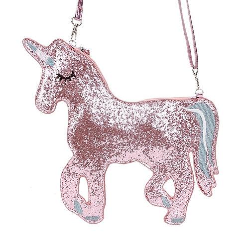 Glitter Unicorn Cut-Out Bag