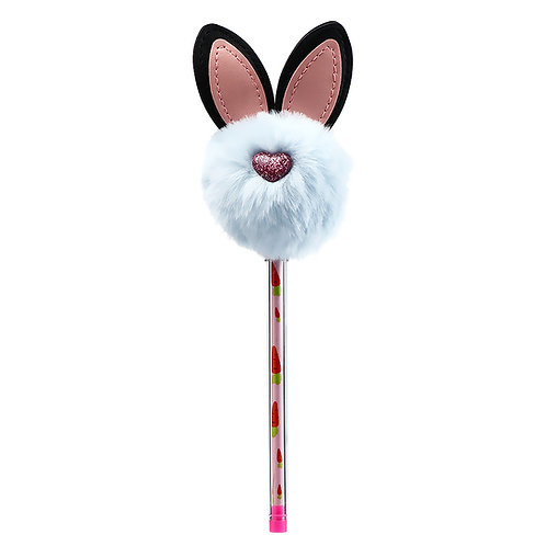 Plush Pom Pom Ears Pen
