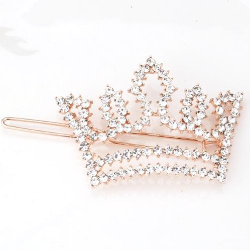 Embellished Crown Hair Pin
