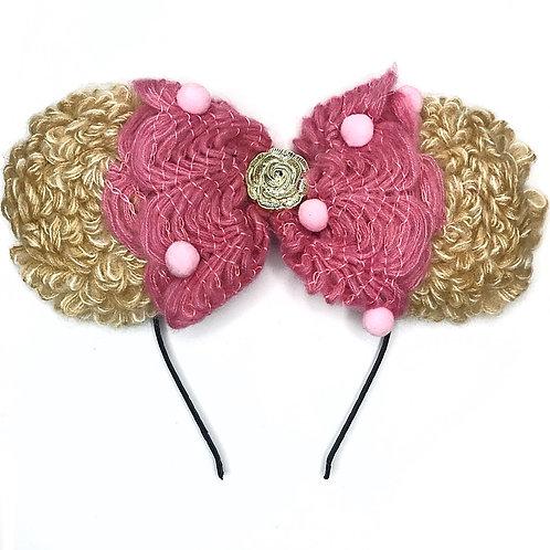 Minnie Knitted Bow Headband