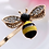 Thumbnail: Bee Hair Pin - Set of 2