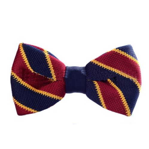 Varsity Knitted Bow Tie