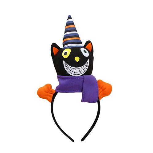 Smiling Cat Halloween Headband