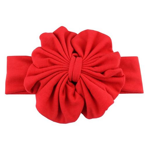 Solid Floppy Bow Headband