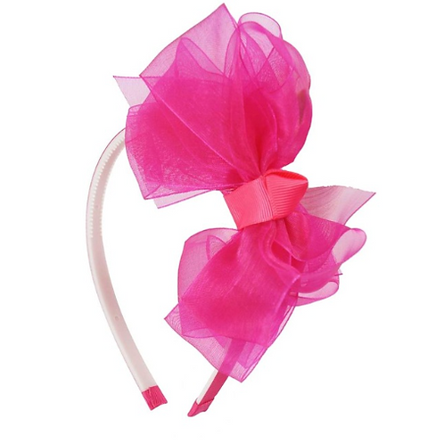 Bow Organza Headband