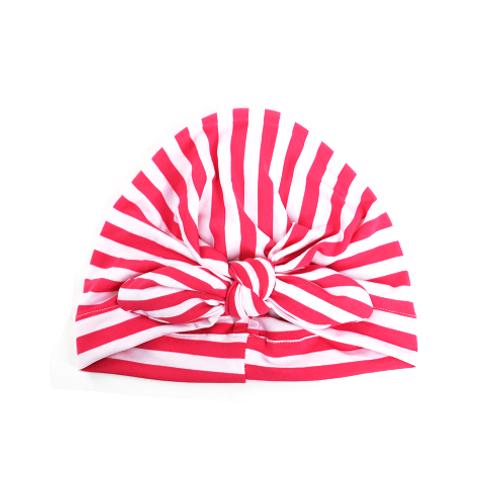 Striped Tied Turban