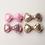 Thumbnail: Mini Sequin Bow Hair Clip - Set Of 4