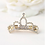 Thumbnail: Mini Crown Barrette Hair Clip