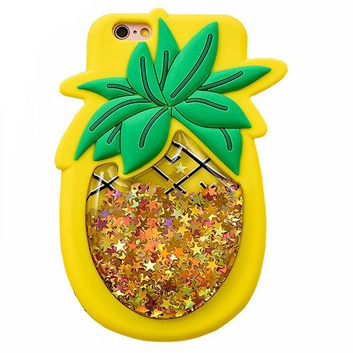 Pineapple Glitter Silicone