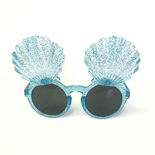Glitter Sea Shell Flip Up Sunnies